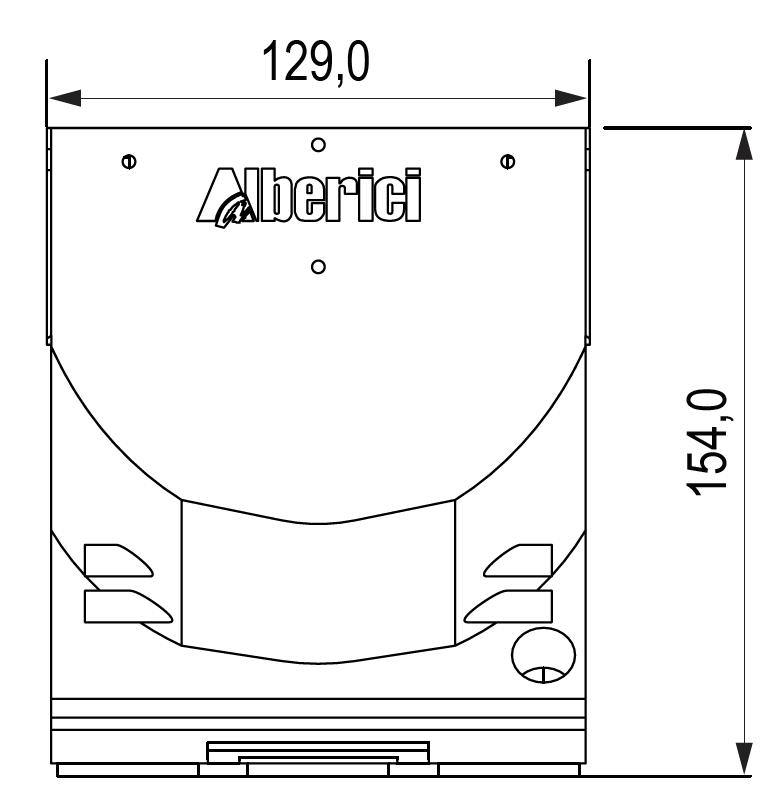 Hopper CD - quota frontale