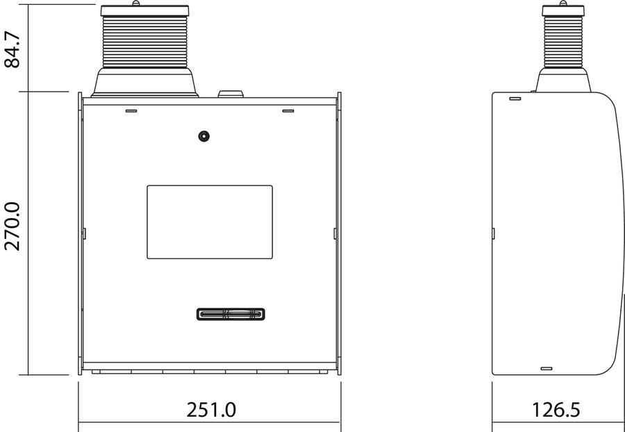 Disegni quotati TCA- Thermo Control Access